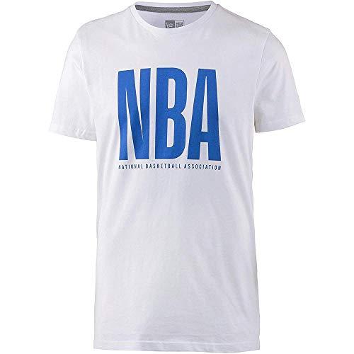 New Era Herren NBA League Tee Nbagen Unterhemd, weiß, XXL