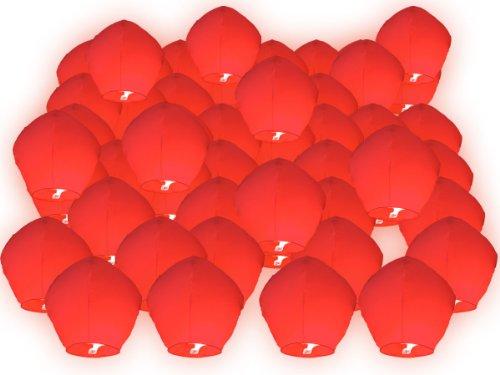 50 x skylaterne ciel lanterne lanterne rouge