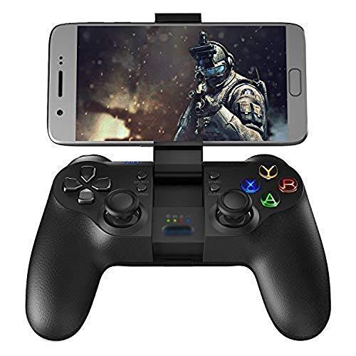 OPmeA Manette de Jeu sans Fil Bluetooth Manette de Jeu sans Fil Bluetooth pour Android/Windows PC/VR/Boîte de télévision/Manette de Jeu PS3