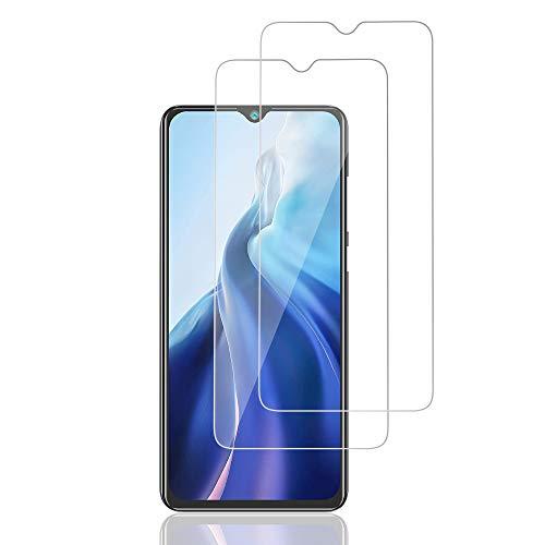 AiMok Cristal Templado Protector de Pantalla Compatible con CUBOT Note 20 Pro, 2 Piezas Cristal Templado Protector�9H Dureza】�Anti Arañazos】
