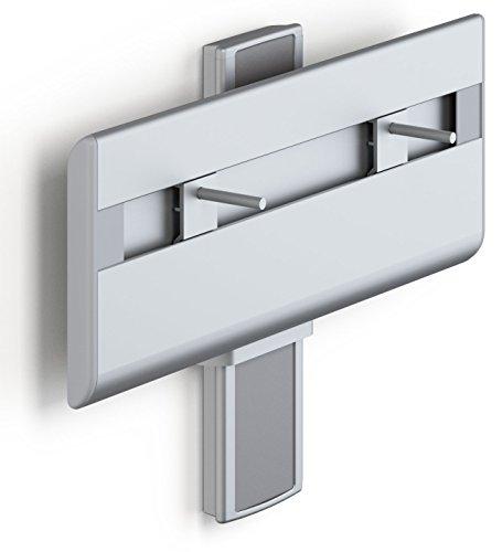 Pressalit R4550112 Waschtisch-Lifter manuell höhenverstellbar, Waschbecken behindertengerecht, barrierefrei für Senioren 130 kg belastbar (42 x 62 x 72 cm)