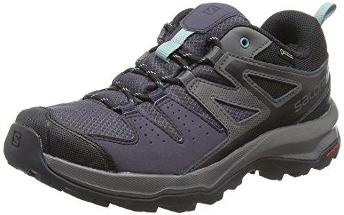 Salomon Femme X Radiant GTX W, Chaussures de Randonnée et Multifonction, Imperméable, Gris (Graphite/Magnet/Trellis), Pointure: 39 1/3