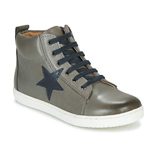 GBB Kany Sneaker Jungen Grau - 34 - Sneaker High Shoes