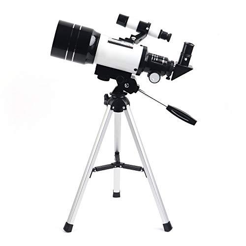 Qilo Telescopio for niños y Principiantes, Alcance 70 mm 300 mm Apetu