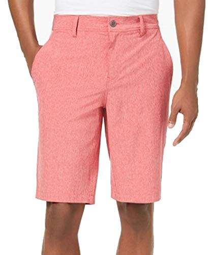32 DEGREES Cool Bright Mens Performance Stretch Woven Shorts Red 40