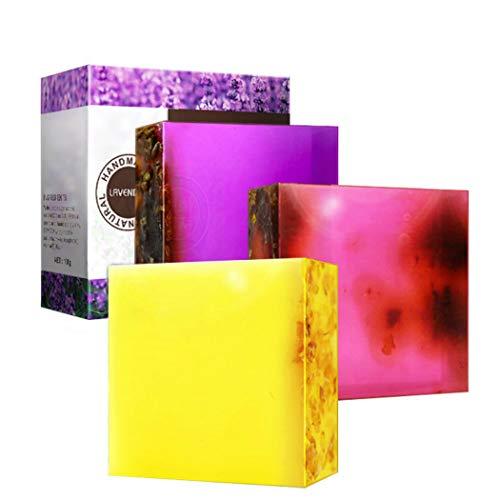 APRITECH® Lavendel Ätherische Öle Seife Hand seife Naturseife Handseife Pure Natural Sauber und Feucht Lavendelölseife (Lavendel)