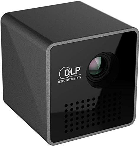 YPSMJLL Mini Tragbarer Projektor Drahtloser WiFi-Taschenprojektor 40 Ansi Lumens Micro Miracast DLNA-Videoprojektor UNIC