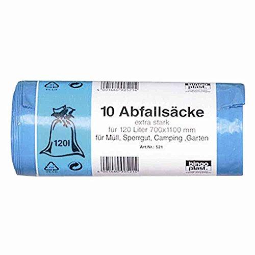 BINGO-PL. 487786 123 Abfallsäcke, Blau