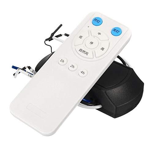 JJBHD Electronic Accessoires & Supplies 175-265V Lüfterlampe Controller Deckenventilator Fernbedienung und Empfänger Kit Fernbedienung Entfernung 60m Um Ihnen die Qualität der Exzellenz bereitzustelle