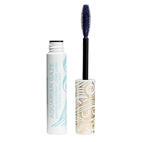 Pacifica Beauty Aquarian Gaze Water Resistant Long Lasting Mineral Mascara, Deep (blue), 0.25 Ounce