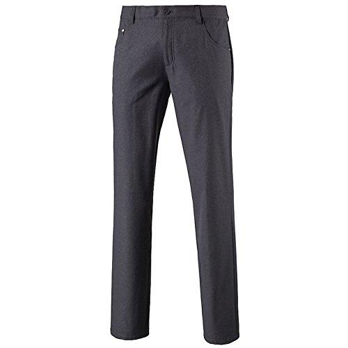 PUMA Golf Men's Heather 6 Pocket Pants - US 32-32 - Quiet Shade