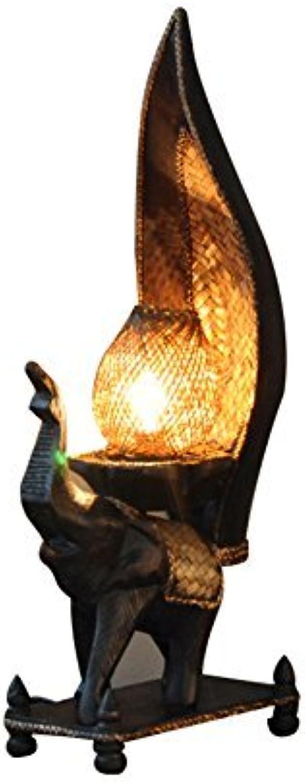 Gorkuor Tischlampe Holz Tischlampe, Retro Stil Bambus Tischlampe Kreative Klassische Lampe Schlafzimmer Nachttischlampe 19  10  50 cm Originalität (Größe  19  10  50 cm) B07JQRCVCT | Sehr gelobt und vom Publikum der Verbraucher geschätzt
