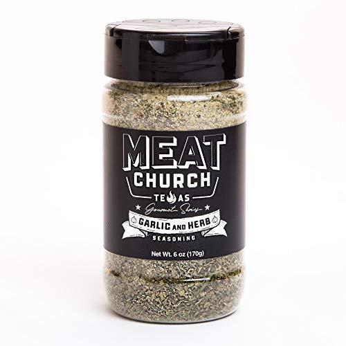 Meat Church Gourmet Series Garlic & Herb Seasoning 6oz.