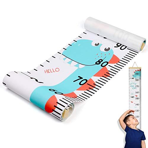 Hifot metro bambini parete Altezza Crescita Grafico misurazione, Metro da parete Righelli per bambini Ragazze Arredamento della camera