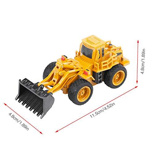 RC Auto kaufen Baufahrzeug Bild 5: Fernbedienung Bagger LKW Bagger Spielzeug RC Kran Mini Baufahrzeug Kinder Geschenk(Kipper)*