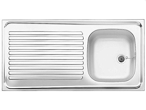 Blanco 510502R-ES 10x 5Edelstahl natur Finish aufrecht Spüle