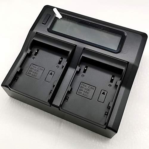 Quick LCD-Display - Batería de repuesto para cámara BP-A30, BPA30, BP-A60, BPA60, BP-A90, BPA90, EOS C200, C200B, C300, C500, XF705