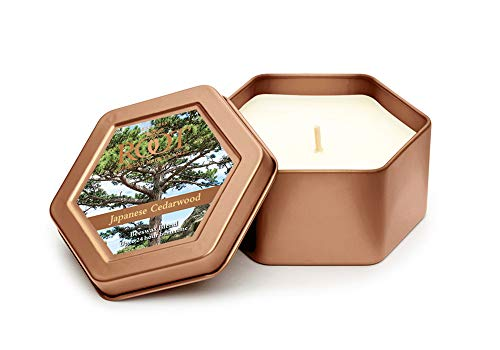 Root Candles Legacy Travel Tin Beeswax Candle, Japanese Cedarwood, 1 EA