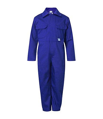 Castle Clothing 333/CM-34 Tearaway Junior Coverall - Mono Infantil, Azul, 34 pulgadas, 13 años