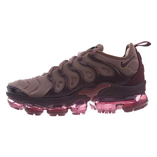 Nike W Air Vapormax Plus, Zapatillas de Gimnasia para Mujer, Gris (Phantom/Crimson Tint/Total Orange/Black 005), 42.5 EU