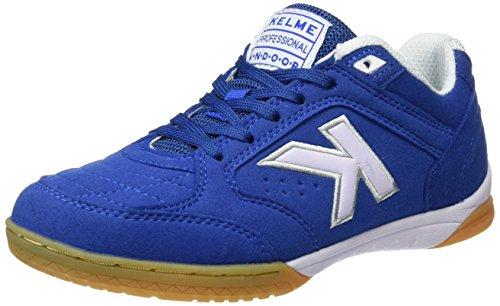 Kelme Precision, Botas de fútbol Unisex Adulto, Azul (Royal), 43 EU