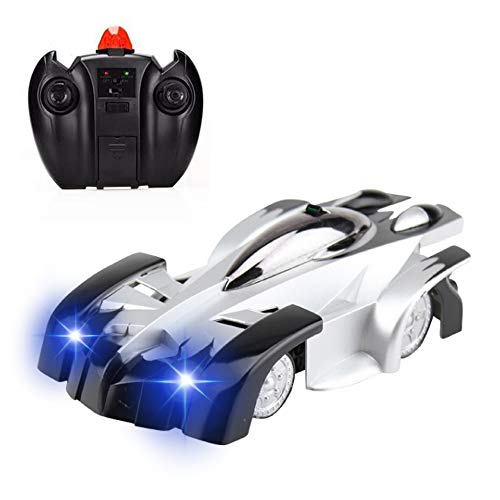 Maxesla Coche Teledirigido, Coche de Control Remoto Modo Dual 360° Stunt Rotación, Luces LED y Cable USB, Juguetes para niños Regalos Divertidos Gadgets Geniales cumpleaños de Navidad