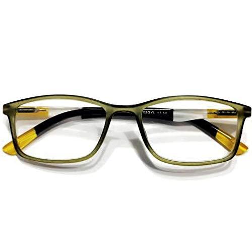 2021年NEWカラー入荷 YGK105GYL GREEN_YELLOW BONOX ダルトン おしゃれ 老眼鏡 シニアグラス Reading Glasses (1.0)