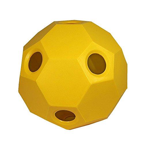 Hay Play Heuball Futterball Heufütterer Pferde Pferdespielzeug gelb