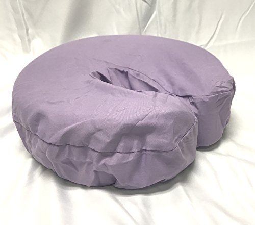 Therapist's Choice Premium Deluxe Microfiber Massage Table Face Cradle Covers, 4pcs per package (Lavender)