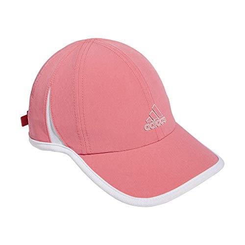 adidas Women's Superlite Cap, Hazy Rose/White, One Size