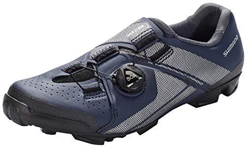 SHIMANO SH-XC3 Fahrradschuhe Navy Schuhgröße EU 45 2021 Rad-Schuhe Radsport-Schuhe