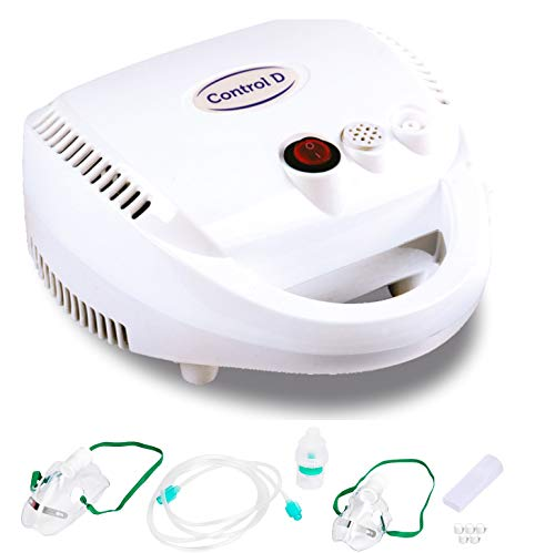 Control D PRO Nebulizer with Mouth Piece, Child and Adult Masks