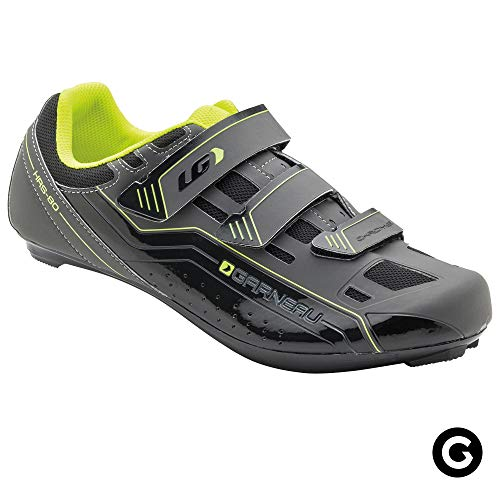 Louis Garneau Unisex Chrome Bike Shoes for Commuting and Indoor Cycling, Compatible with SPD, Look and All Road Pedals, Bright Yellow, US (10.75), EU (45)