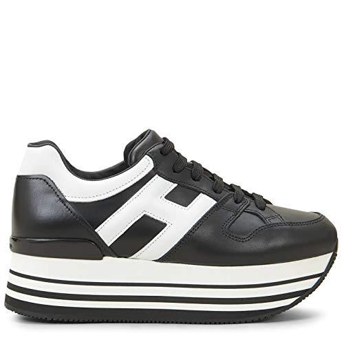 Hogan Luxury Fashion Damen HXW2830T548HQK0002 Schwarz Sneakers | Jahreszeit Permanent
