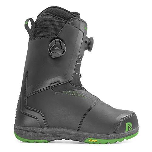 Nidecker - Boots De Snowboard Helios Boa Homme Noir - Homme - Taille 43 - Noir