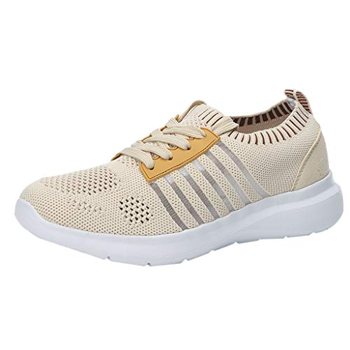 Breathable Sneakers Damen Sportschuhe Mesh Leichte Schuhe,Mode Hohl Women\'s Laufschuhe,Turnschuhe,Fitnessschuhe URIBAKY