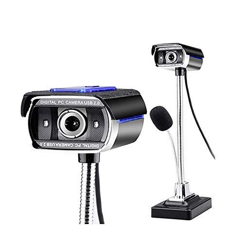 Wdonddonsxt webcam USB HD Webcam, Visión Nocturna 1080p Ordenador Cámara Con El Micrófono, Cámara Web For El Ordenador Portátil O De Escritorio For Windows, Drive-libre, De Captura Del Retrato, web ca