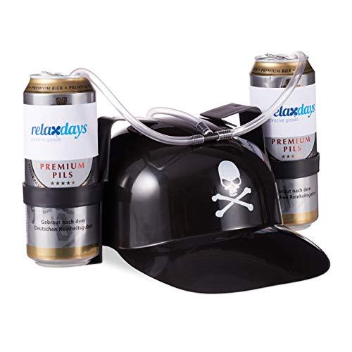 Relaxdays -   Trinkhelm Pirat,