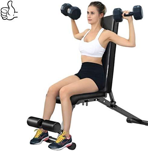 AINH Peso ajustable Bench Inicio Entrenamiento en gimnasio levantamiento de pesas, Utilidad ajustable Banco de ejercicio, entrenamiento Benchs plegable Bench press inclinado banco de ejercicio gimnasi