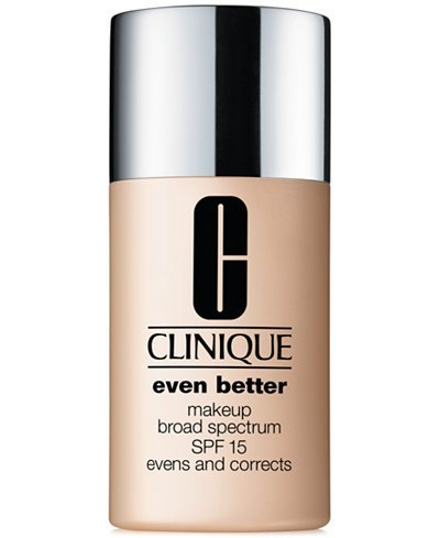 New Clinique Even Better Makeup SPF 15, 1 oz / 30 ml, 07 Vanilla (MF-G)