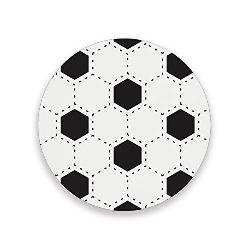 Sottobicchiere in ceramica con base in sughero per tavolo cucina, decorazione domestica 0,20 x 3,9 x 1 2010247