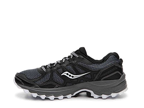 Saucony Women's Excursion TR11 Black/White Running Shoes 9.5...