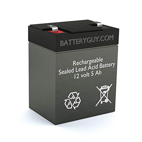 BatteryGuy Battery BG-1250F1-12V 5.0AH Replacement for The Troy Bilt TB280 ES Battery