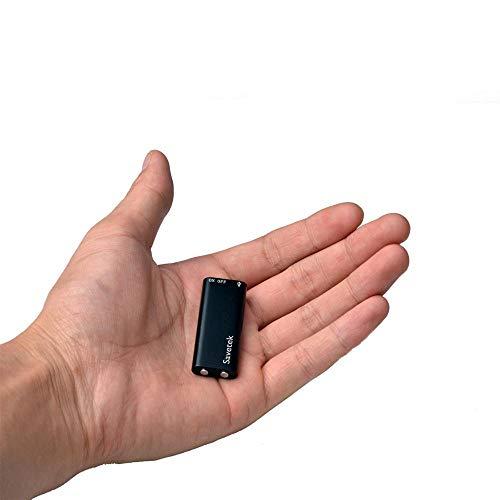 Mini USB Pen Voice Activated 8GB Digital Voice Recorder, Kleinste Met MP3-Speler Zwarte Kleine Vergaderingen Interviews…
