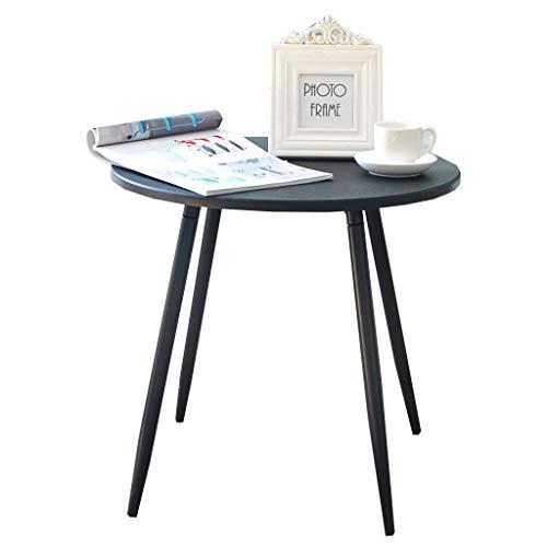 Petite Table Ronde Combinaison Nordique Simple Table Basse Canapé Table De Chevet Moderne Court Décontractée Café Jouet Table Taille: 48 * 45.5 Cm