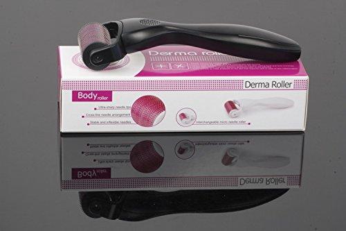 Body Dermaroller 1200 Mikronadeln / 2,5 mm Nadellänge gegen Aknenarben Cellulite