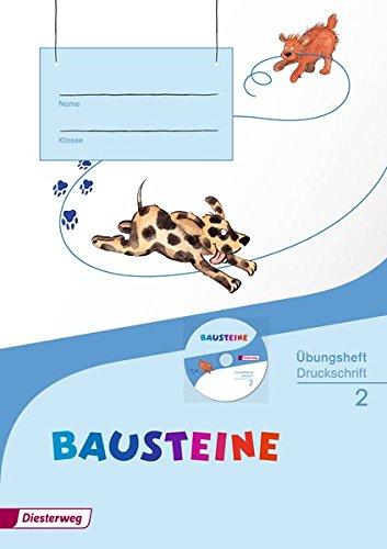 BAUSTEINE Sprachbuch - Ausgabe 2014: Übungsheft 2 DS mit Lernsoftware: Ausgabe 2014 - Druckschrift. Mit Lernsoftware