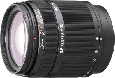 ソニー 『DT 18-200mm F3.5-6.3(SAL18200)』