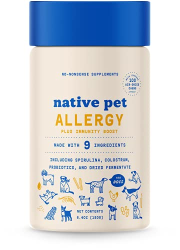 Top 10 best selling list for natural supplements for dogs immunity