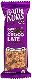 Barras nutritivas de avena con Chocolate 100% natural (42 pz)